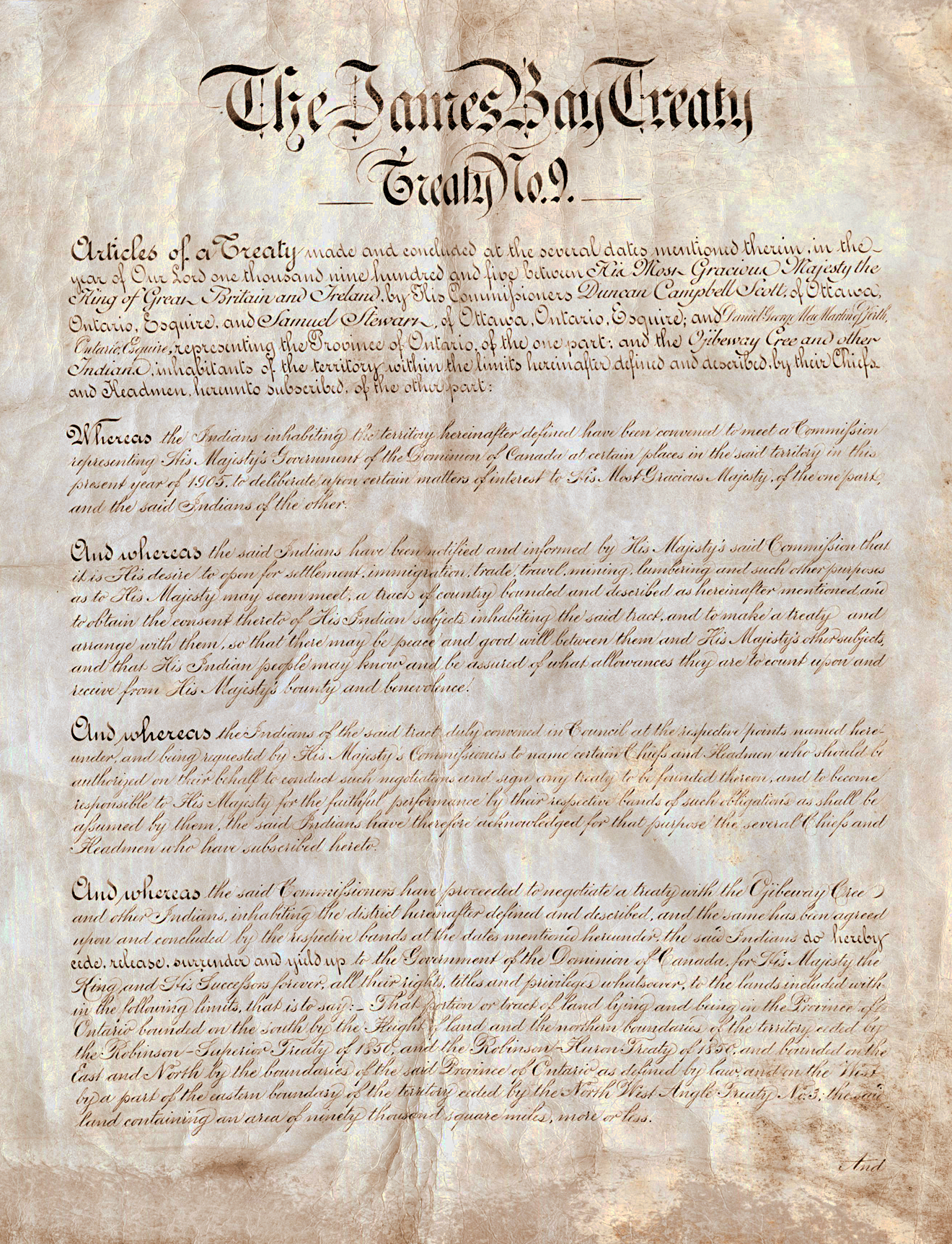 Treaty 9 Document
